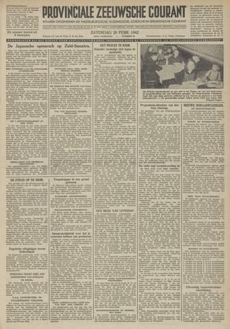 Provinciale Zeeuwse Courant 1942-02-28