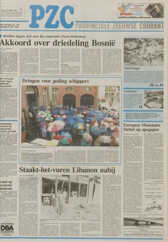 Provinciale Zeeuwse Courant 1993-07-31