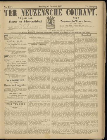 Ter Neuzensche Courant. Algemeen Nieuws- en Advertentieblad voor Zeeuwsch-Vlaanderen / Neuzensche Courant ... (idem) / (Algemeen) nieuws en advertentieblad voor Zeeuwsch-Vlaanderen 1897-02-06