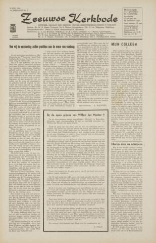 Zeeuwsche kerkbode, weekblad gewijd aan de belangen der gereformeerde kerken/ Zeeuwsch kerkblad 1966-07-22