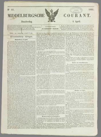 Middelburgsche Courant 1861-04-04