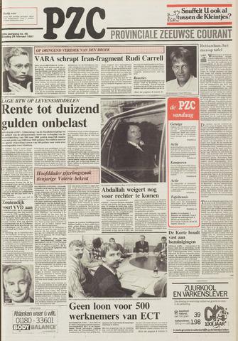 Provinciale Zeeuwse Courant 1987-02-24