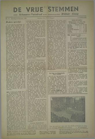 Vrije Stemmen van Schouwen-Duiveland, tevens mededeelingenblad Militair Gezag 1945-11-24