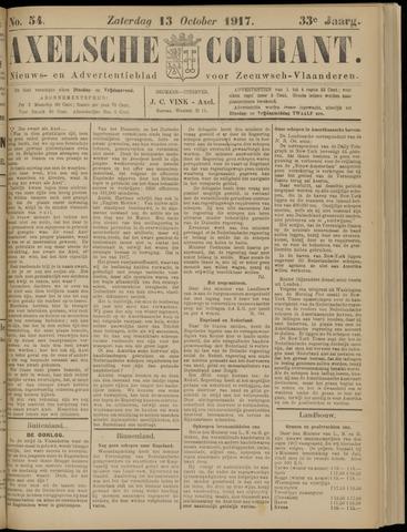 Axelsche Courant 1917-10-13