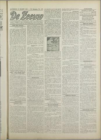De Zeeuw. Christelijk-historisch nieuwsblad voor Zeeland 1943-03-27