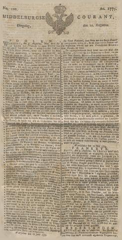 Middelburgsche Courant 1775-08-22
