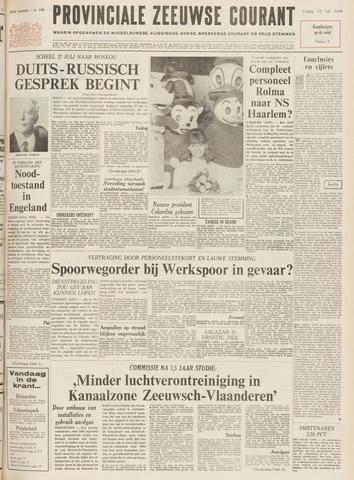 Provinciale Zeeuwse Courant 1970-07-17