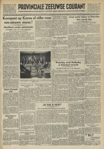 Provinciale Zeeuwse Courant 1950-08-22