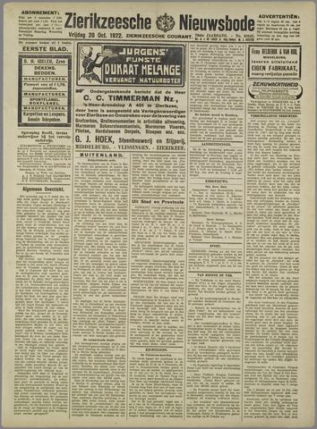Zierikzeesche Nieuwsbode 1922-10-20