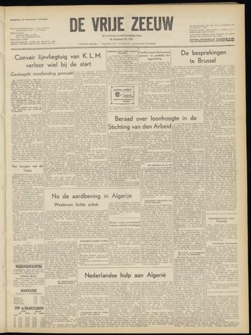 de Vrije Zeeuw 1954-09-13