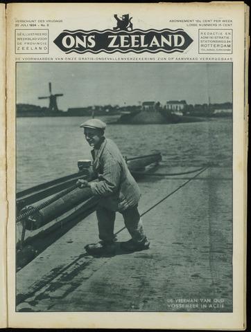 Ons Zeeland / Zeeuwsche editie 1934-07-20