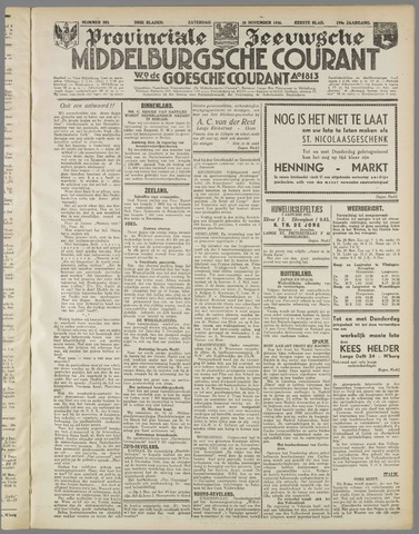 Middelburgsche Courant 1936-11-28