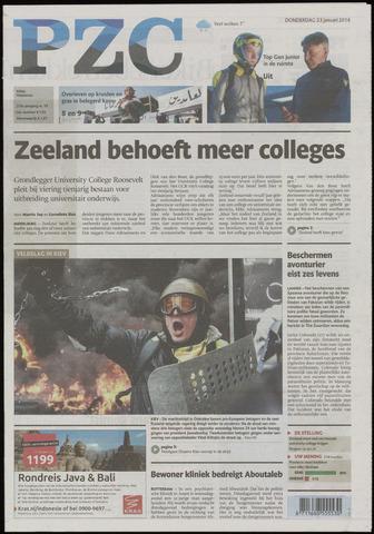 Provinciale Zeeuwse Courant 2014-01-23