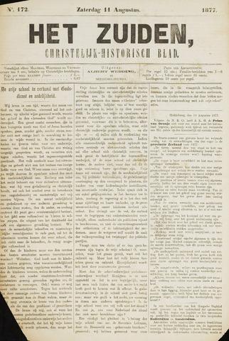 Het Zuiden, Christelijk-historisch blad 1877-08-11
