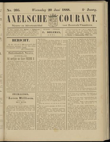 Axelsche Courant 1888-06-20