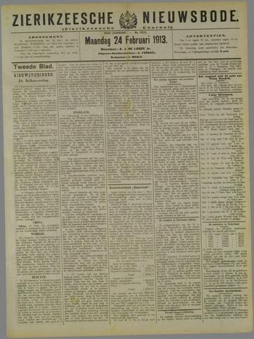 Zierikzeesche Nieuwsbode 1913-02-24