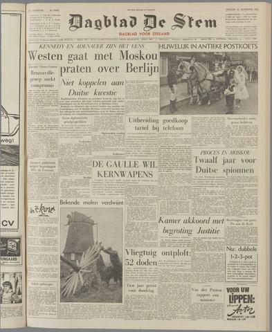 de Stem 1961-11-24