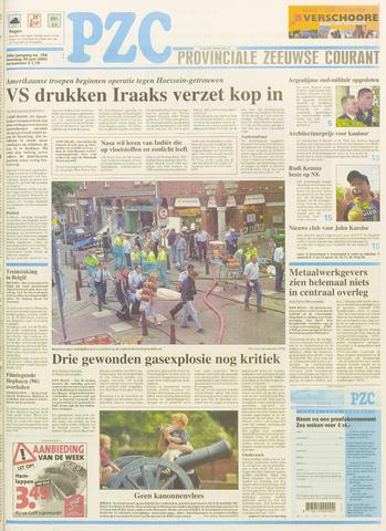 Provinciale Zeeuwse Courant 2003-06-30