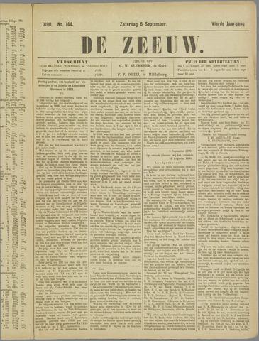 De Zeeuw. Christelijk-historisch nieuwsblad voor Zeeland 1890-09-06