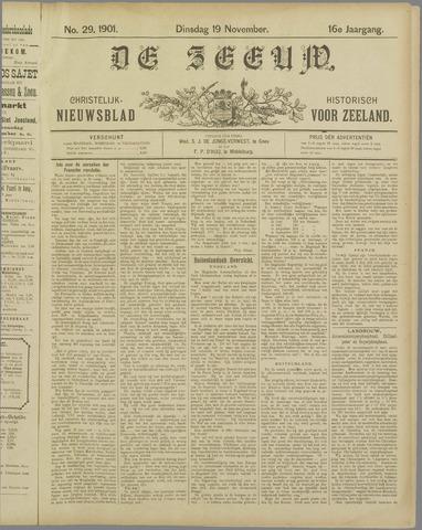 De Zeeuw. Christelijk-historisch nieuwsblad voor Zeeland 1901-11-19