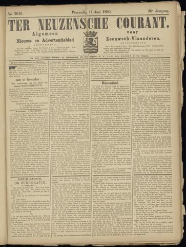 Ter Neuzensche Courant. Algemeen Nieuws- en Advertentieblad voor Zeeuwsch-Vlaanderen / Neuzensche Courant ... (idem) / (Algemeen) nieuws en advertentieblad voor Zeeuwsch-Vlaanderen 1890-06-11