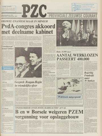 Provinciale Zeeuwse Courant 1981-09-10