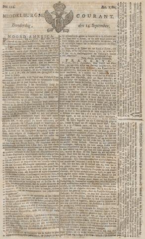 Middelburgsche Courant 1780-09-14