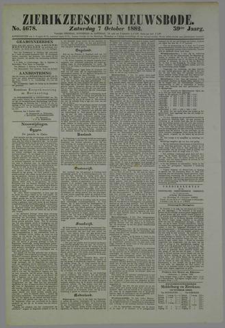 Zierikzeesche Nieuwsbode 1882-10-07