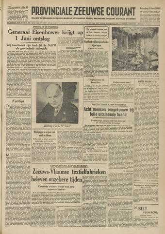 Provinciale Zeeuwse Courant 1952-04-12