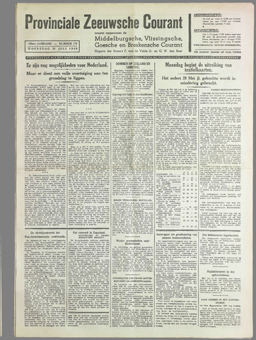 Provinciale Zeeuwse Courant 1940-07-31