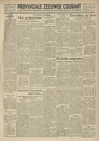 Provinciale Zeeuwse Courant 1947-09-09