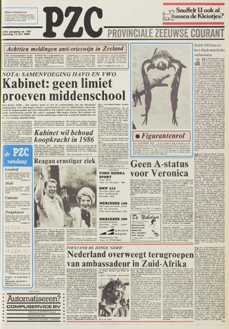 Provinciale Zeeuwse Courant 1985-07-13