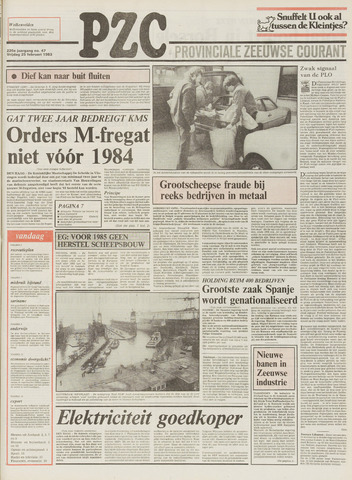 Provinciale Zeeuwse Courant 1983-02-25