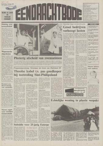 Eendrachtbode (1945-heden)/Mededeelingenblad voor het eiland Tholen (1944/45) 1989-10-05