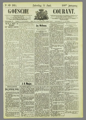Goessche Courant 1913-06-14