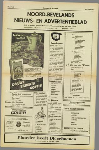 Noord-Bevelands Nieuws- en advertentieblad 1959-07-18