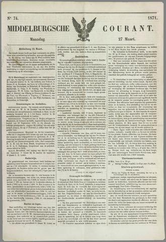 Middelburgsche Courant 1871-03-27
