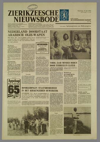 Zierikzeesche Nieuwsbode 1974-07-11