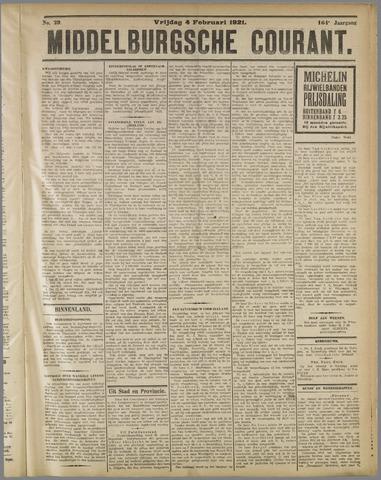 Middelburgsche Courant 1921-02-04