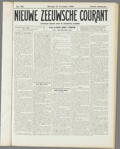 Nieuwe Zeeuwsche Courant 1906-11-13