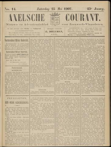 Axelsche Courant 1907-05-25