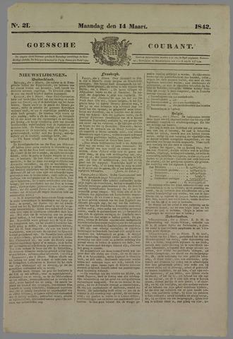 Goessche Courant 1842-03-14