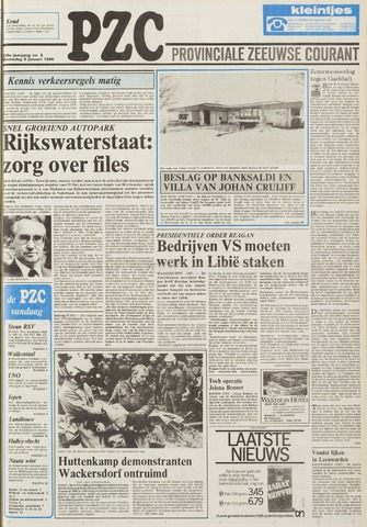 Provinciale Zeeuwse Courant 1986-01-08