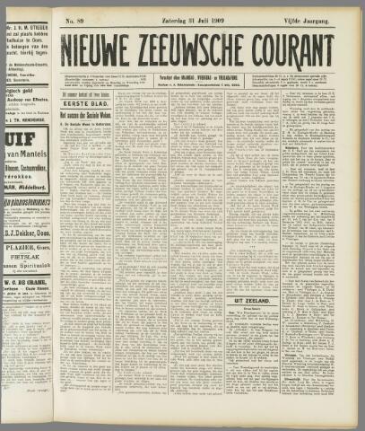Nieuwe Zeeuwsche Courant 1909-07-31