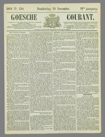 Goessche Courant 1894-12-20
