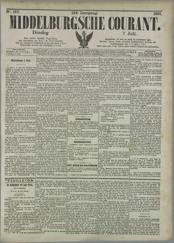 Middelburgsche Courant 1891-07-07