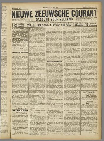 Nieuwe Zeeuwsche Courant 1922-07-31
