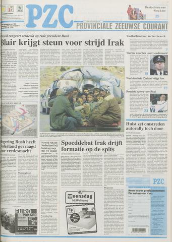 Provinciale Zeeuwse Courant 2003-03-19