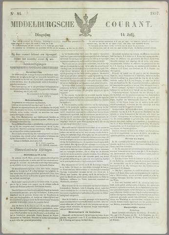 Middelburgsche Courant 1857-07-14