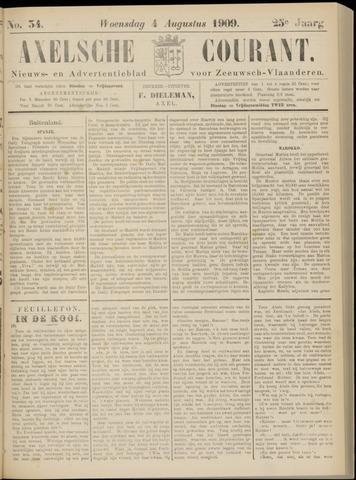 Axelsche Courant 1909-08-04
